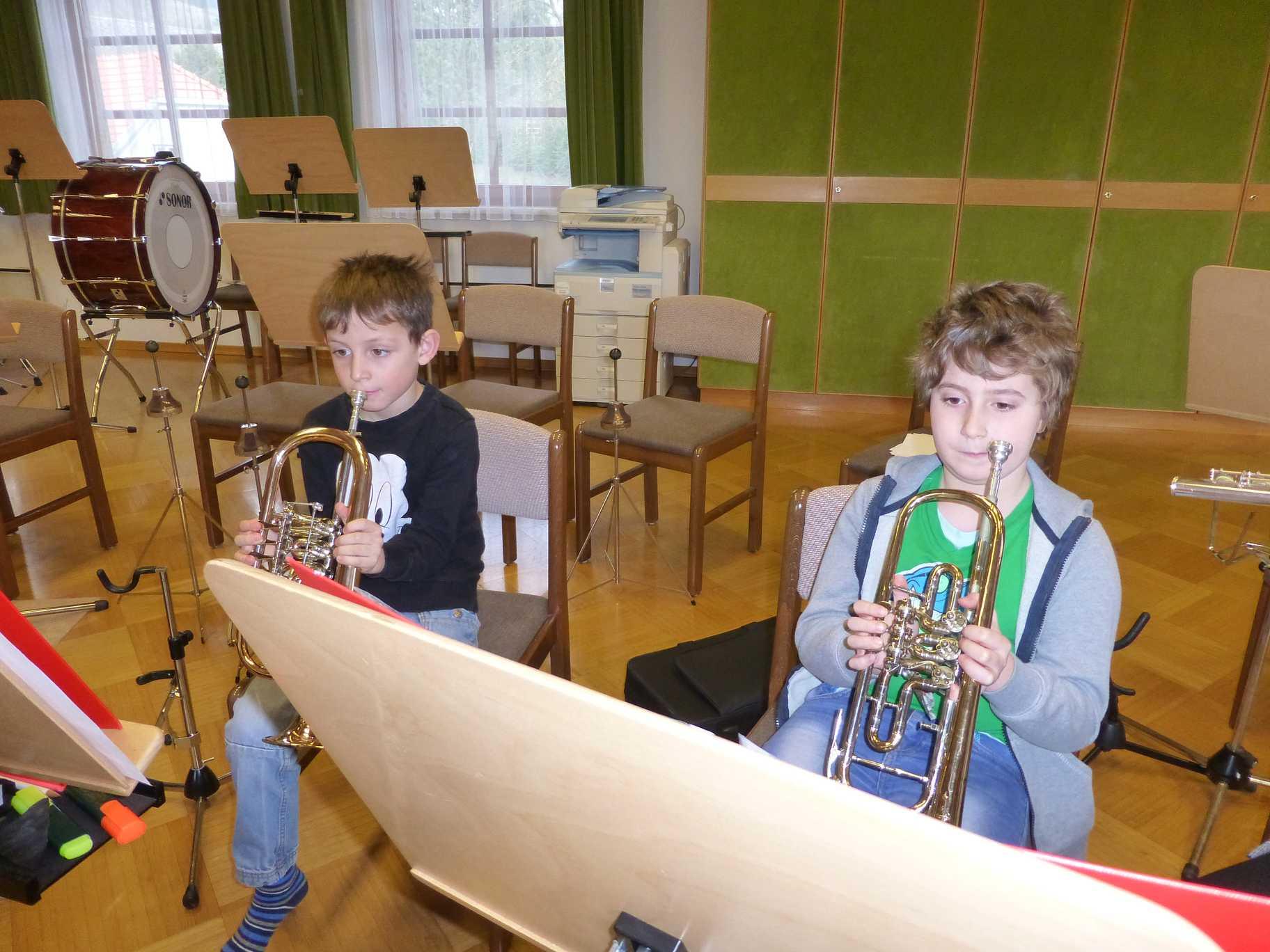 Jungmusikergruppe März 2016